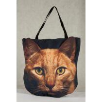 3D Macskás táska - vörös