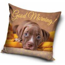 Amstaff mintás párna - good morning