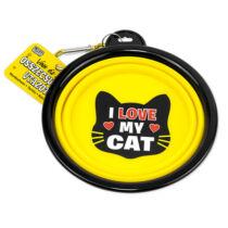 I love my Cat összecsukható utazó cicatál- w&w