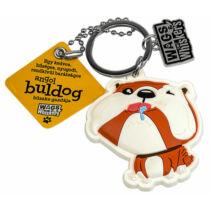 Angol Bulldog kulcstartó - w&w