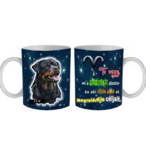 Rottweiler horoszkópos bögre