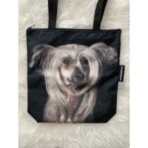 Kínai meztelen kutya mintás táska