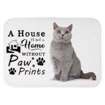 Brit macskás szőnyeg - a house