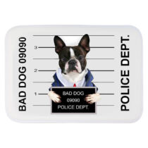 Francia Bulldogos szőnyeg - bad dog