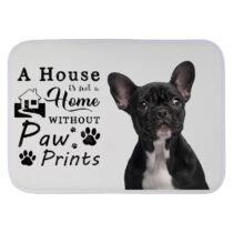 Francia Bulldogos szőnyeg - a house