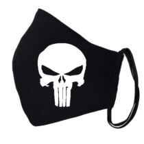 Punisher fekete szájmaszk