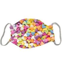 Cukorka mintás szájmaszk - színes