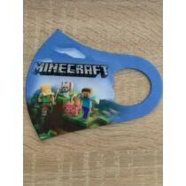 Minecraft mintás gyerek szájmaszk
