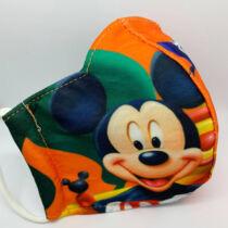 Mickey gyerek szájmaszk - narancs