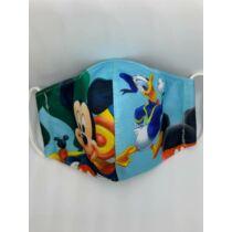 Mickey gyerek szájmaszk - világoskék
