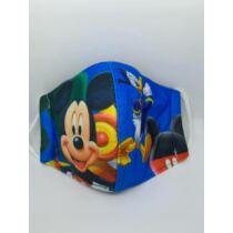 Mickey gyerek szájmaszk - kék