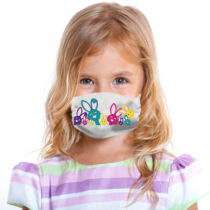 Nyuszis gyerek szájmaszk