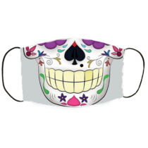 Mexican skull mintás szájmaszk - száj