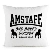 Amstaff mintás párna - Bad Bones