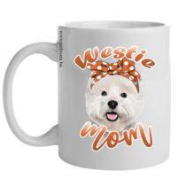 Westie bögre - mom
