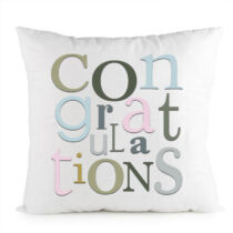Ballagásra párna - congratulations