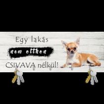 Chihuahua fali kulcstartó 3