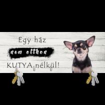 Chihuahua fali kulcstartó