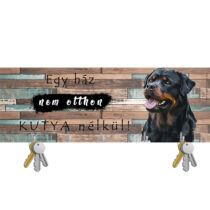 Rottweiler fali kulcstartó