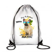 Francia Bulldog hátizsák - koktél