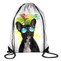 Francia Bulldog hátizsák - summer