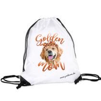 Golden retriever hátizsák - mom