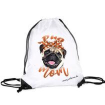 Mopsz hátizsák - mom