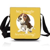 Beagle oldaltáska