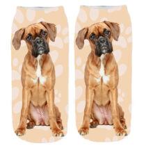 Boxer mintás zokni - puppy