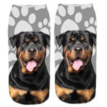 Rottweiler mintás zokni