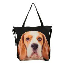 3D Beagle mintás laptop táska