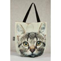3D Macskás táska - cirmos