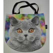 3D Brit rövidszőrű macskás táska