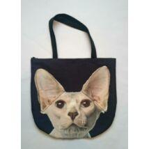 3D Szfinx macskás táska