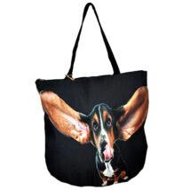 3D Basset Hound mintás táska