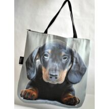 3D Tacskó mintás táska - puppy