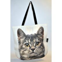 3D Macskás táska - cirmos 2