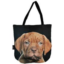 3D Bordeaux-i dog mintás táska - puppy
