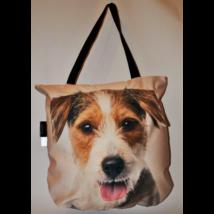 3D Jack Russell-terrier mintás táska - szálkásszőrű