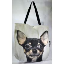 3D Chihuahua mintás táska