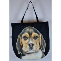 3D Beagle mintás táska - puppy 2