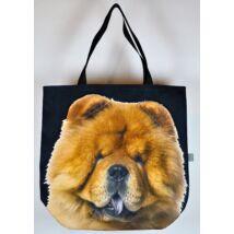 3D Chow Chow mintás táska