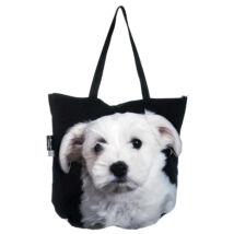 3D Máltai Selyemkutya mintás táska - puppy