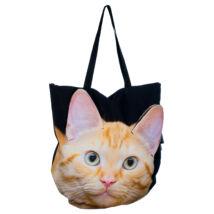 3D Macskás táska - vörös 4