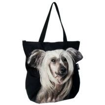 3D Kínai meztelen kutya mintás táska 3