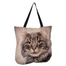 3D Amerikai Görbefülű macska mintás táska