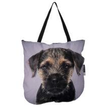 3D Border Terrier mintás táska puppy