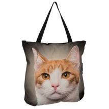 3D Macskás táska - vörös 3