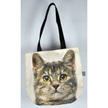 3D Macskás kids táska - cirmos 2