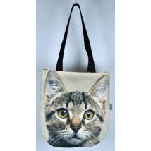 3D Macskás kids táska - cirmos 3